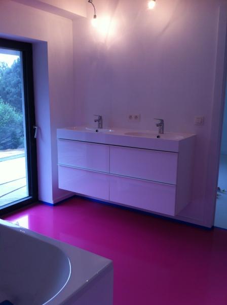procotech rev tement sol r sine epoxy auto lissant rev tement de sol poxy coul d 39 une. Black Bedroom Furniture Sets. Home Design Ideas